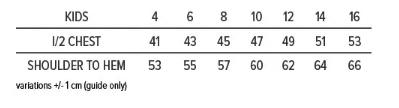 Como Crocs Hoodie Kids Size Chart