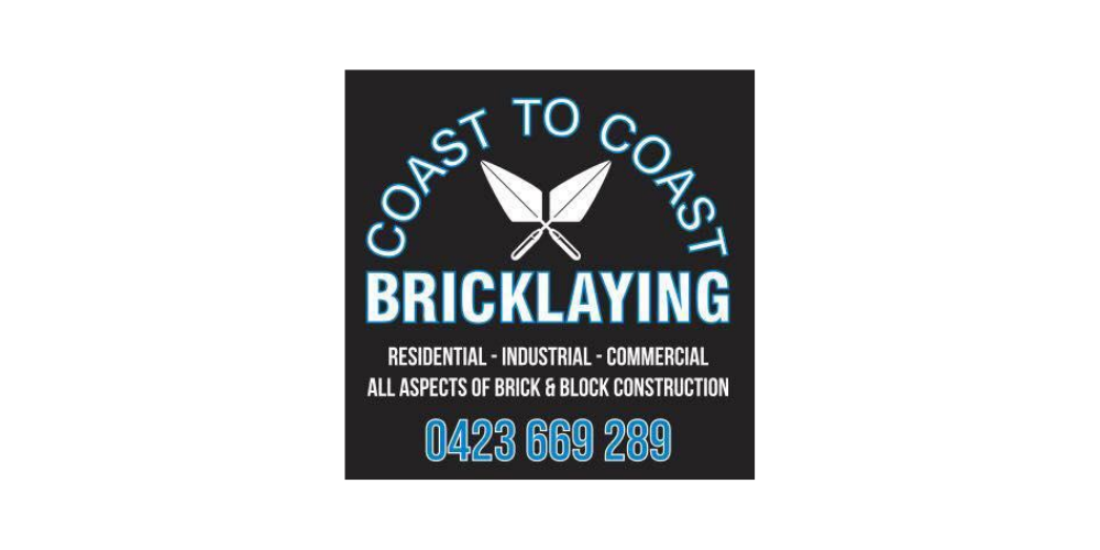 Sponsor Coast to Coast Bricklaying